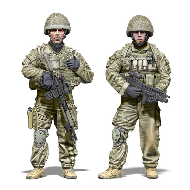 Scale 1/35 Second Gulf War / British Special Forces SAS