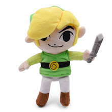 Anime The Legend of Zelda Link Doll Plush Soft Stuffed Baby Toy Great Christmas Gift For Children все цены