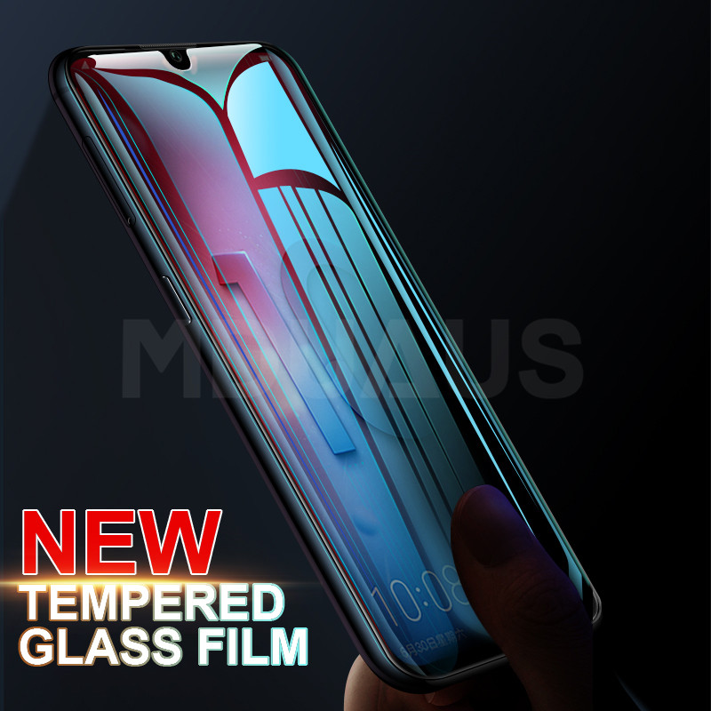 9H Protective Glass on the For Huawei Honor 10 9 8 Lite Tempered Glass For Honor V10 V20 8X V9 Play 7A Pro Screen Protector Film