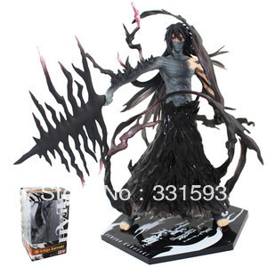 Japanese Anime Bleach Kurosaki Ichigo PVC Action Figure Cartoon Collection Model Cool Christmas Gifts 19cm Free Shipping halloween cosplay mask death bleach kurosaki ichigo cosplay pvc props mask masquerade party mask action figure brinquedos