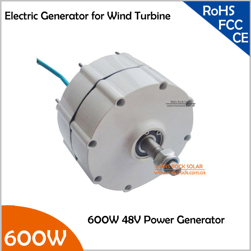 800r/m 600W 48V Permanent Magnet Generator AC Alternator for Vertical or Horizontal Wind Turbine 600W Wind Generator permanent magnet generator diy wind generator vertical 600w 24v 48v dc power on sale with 600w waterproof controller