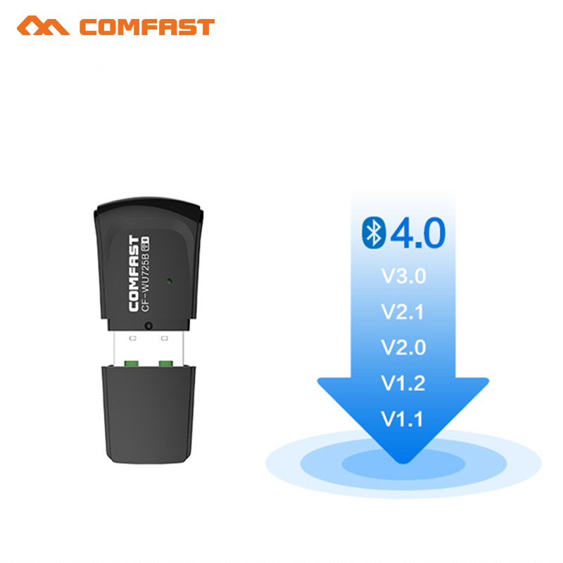10pcs Comfast Mini USB WiFi Adapter 150Mbps Wi-Fi Dongle PC Network Card Bluetooth 4.0 USB Ethernet Wifi Receiver/transmitter Ap