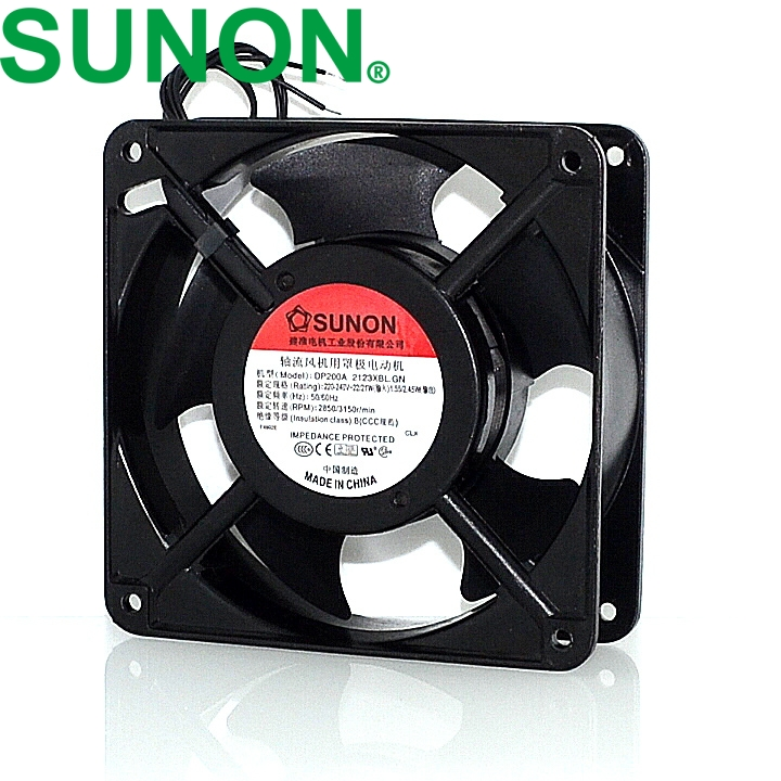 20pcs 12038 DP200A 2123XBL  exhaust  220V 12CM 120*120*38MM 1238 12038 double ball kitchen cooling fan delta afb1212hhe 12038 12cm 120 120 38mm 4 line pwm intelligent temperature control 12v 0 7a
