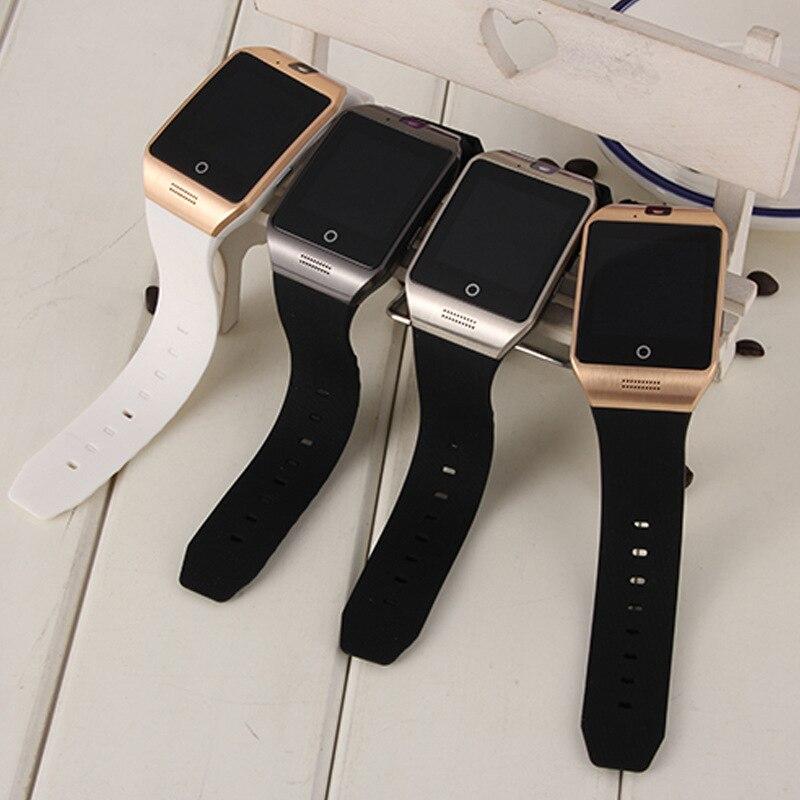 Smart Watch S18 Q18 APPOR Supporto Sim Card e Bluetooth Della Macchina Fotografica Dello Schermo Curvo Collegamento Smart Clock orologio pk gt08 Smartwatch