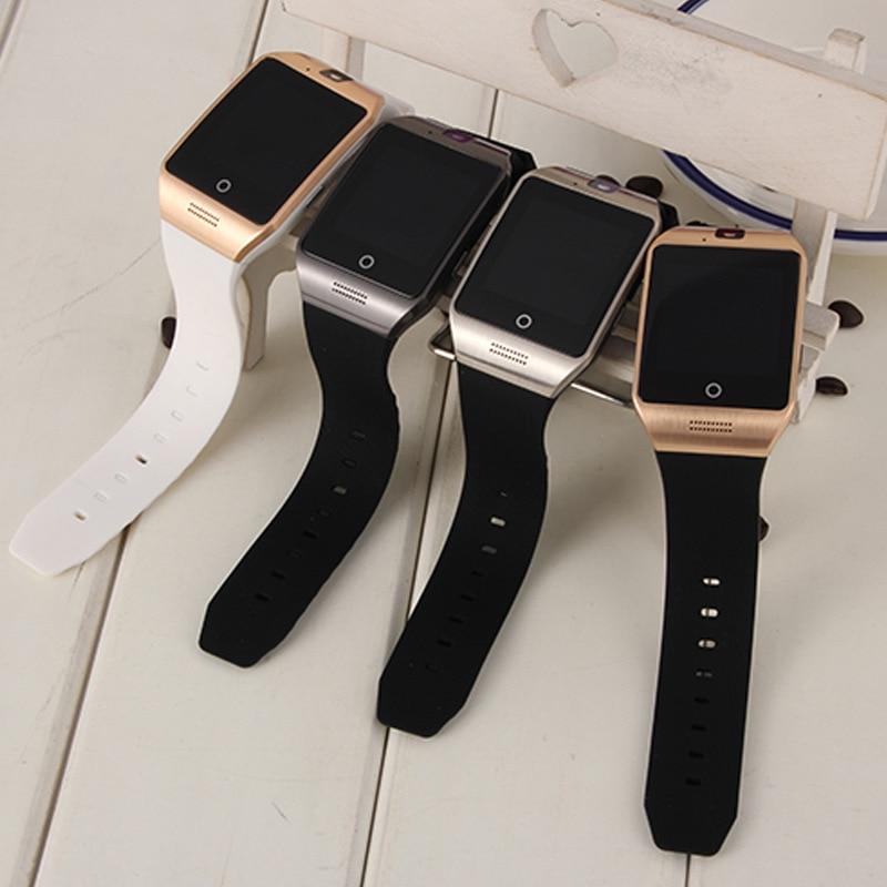 Reloj inteligente S18 Q18 repartirá tarjeta SIM y Bluetooth Cámara pantalla curvada conexión reloj inteligente reloj PK gt08 smartwatch