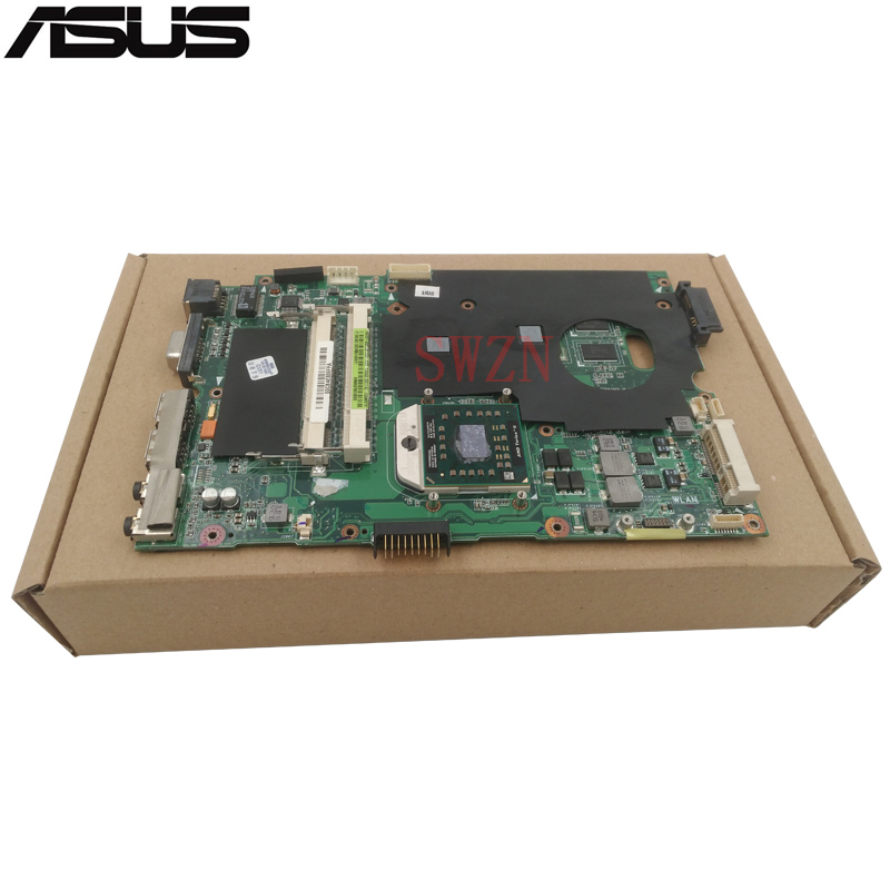 original Used Laptop motherboard For ASUS K50AB K50AD K50AF K50JJ K50IN Mainboard DDR2 Mainboard Full Tested K50AB Main Board original mbx 219 motherboard da0sy3mb6g0 ddr2 mainboard 100