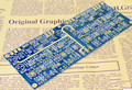 Бесплатная Доставка 18 СМ * 8 СМ * 1.6 мм 1 УНЦ. ENIG Синий PCB A35 Accuphase усилитель класса А PCB двойной Усилитель Доска