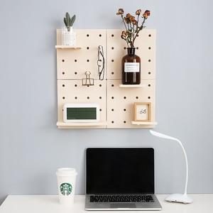 Image 1 - Estante de pared de plástico montado en la pared estante de pared blanco elegante estante de exhibición Simple de moda decoración del hogar