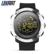 Novos Homens IP68 À Prova D' Água Esporte Pedômetro SmartWatch bluetooth relógio Digital Lembrete Mensagem relógio Inteligente Para ios Android Phone