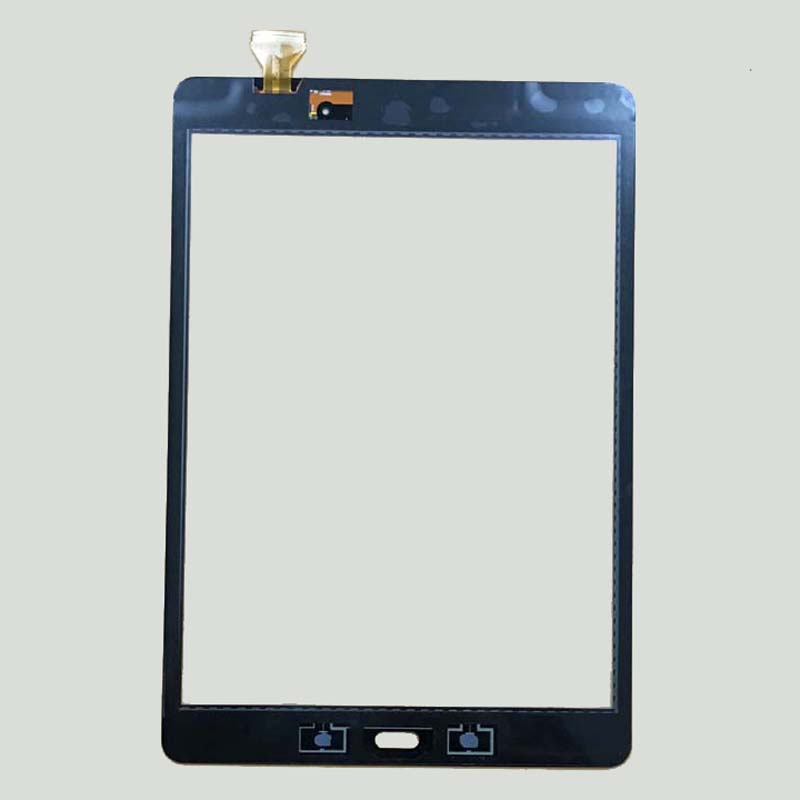 Black Gray For Samsung Galaxy Tab A 9.7 SM-T550 T550 T551 T555 Digitizer Touch Screen Panel Sensor Glass Replacement