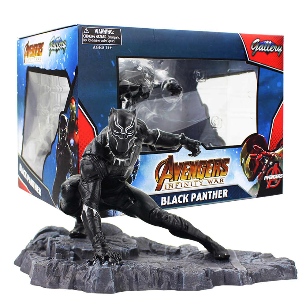 NEW Hero Avengers Infinity War Black Panther PVC Statue Figure Toy Doll No Box