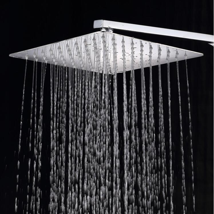 12 inch Stainless Steel 304 rainfall shower head quality guarantee 304 SUS Bathroom Showerhead SH102 scott millett professional asp net design patterns