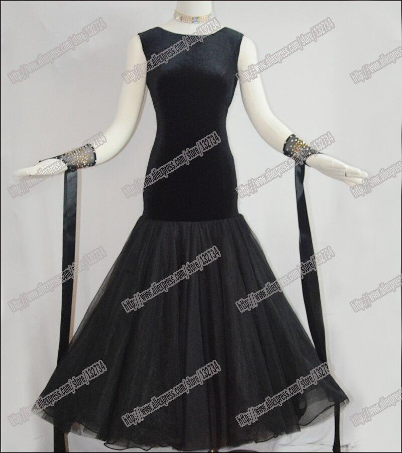 Modern Waltz Tango Ballroom Dance Dress, Smooth Ballroom Dress,Standard Ballroom Dress Girls B-0025