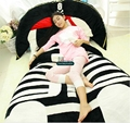 Dorimytrader 235cm X 150cm Anime The Pirate Captain Beanbag Giant Stuffed Soft Bed Mattress Tatami Sofa Free Shipping DY60376