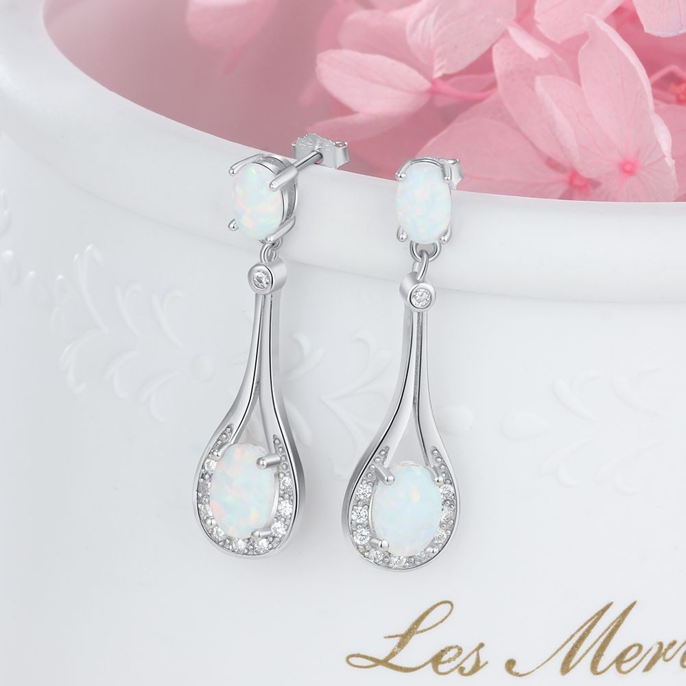 New high quality S925 silver earrings drop-shaped zircon stud earrings for friends gatherings and couples gifts  CG16New high quality S925 silver earrings drop-shaped zircon stud earrings for friends gatherings and couples gifts  CG16
