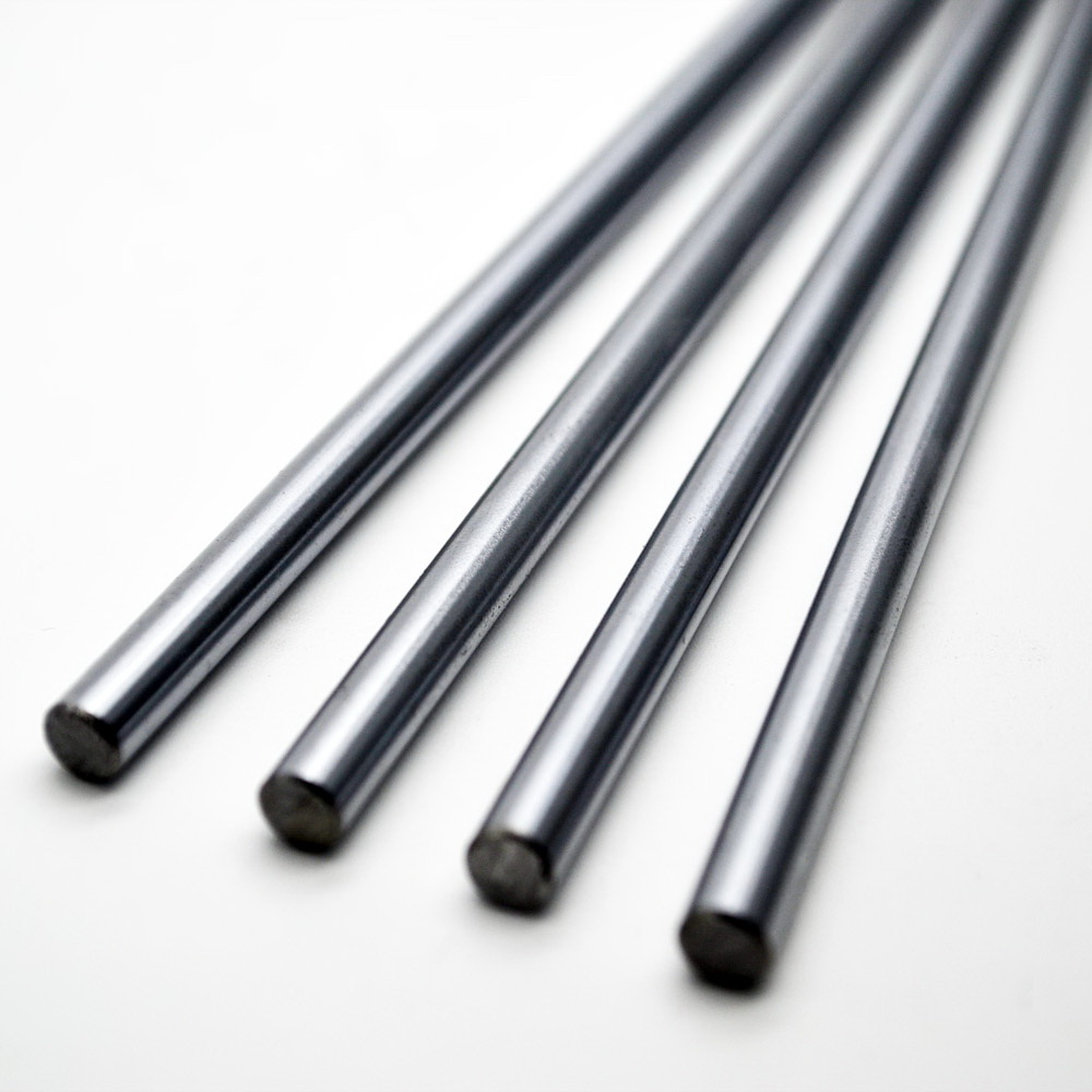 4 PCS Linear shafts 8mm Length 450mm Chrome Plated For CNC Parts chrome plated wired control plate for jazz basstotal approx 152 54 mm l