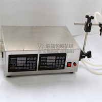 LT 2 Two Headed Automatic CNC Liquid Filling Machine Filler Water Beverage Drink Wine Quantitative Packing