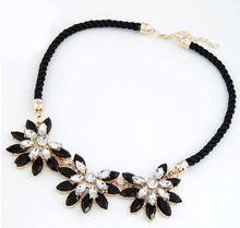 2017 Vintage Brand Women Collar Clavicle Chain Choker Bib Statement font b Necklace b font Weave