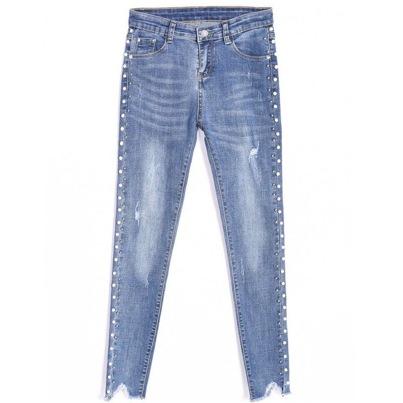 estiramento Sidra calças USD