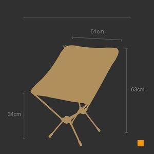 Image 5 - Chaise de lune haute qualité pêche 7075 tabouret léger extérieur Portable pliant Portable meubles chaises de plage chaise de pêche