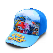 Anime Super Wings Hat Model Mini Planes toy Transformation Airplane Robot Action Figures superwings Peaked cap toys for kids