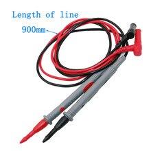 Sonde de Test 20a 1000V, 1 paire de fils de Silicone, fils universels, broches de fils de Test pour multimètre numérique, pointe d'aiguille multimètre