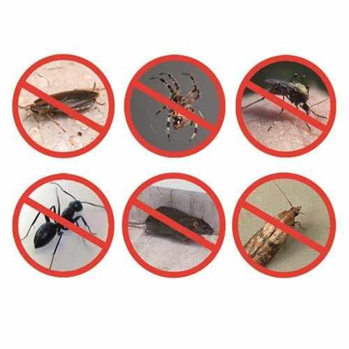 50% Off Anti Serangga Ultrasonic 300 Meter Persegi Cakupan Hama Repeller Electronic Rat Nyamuk Terbang Tungau Menolak Pembunuh Pro