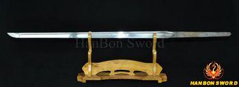 Damascus Folded Steel Oil Quenched Japanese Samurai Katana Sword Full Tang Functional Ninja Blade Real Handmade Custom