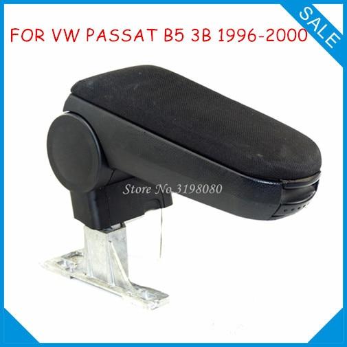 Бесплатная доставка для VW Passat B5 3b 1996-2000 автомобиль подлокотник, автомобиль Салонные аксессуары авто Запчасти центр подлокотник бардачок по...