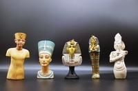 Egypt's Original Single Pharaohs Miniature Figurines Africa Tutankhamun Model Tourism Memorial Home Decor Egyptian Ornaments