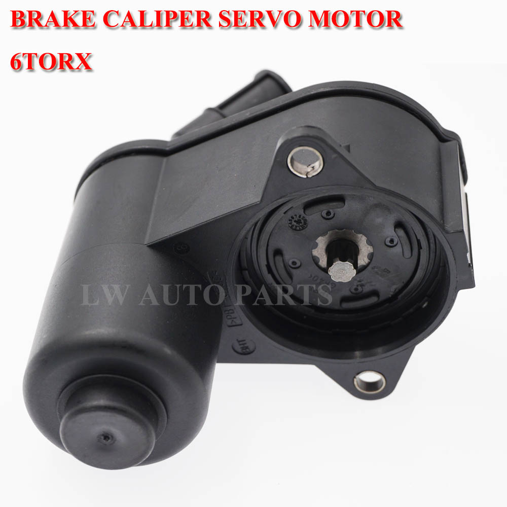 12/ 6 Teeth Parking Brake Calliper Sevo Motor 4F0998281 for Audi A6 S6 Quattro 2005 2006 2007 2008 - 2011 4F0998281B 4F0 998 281 image