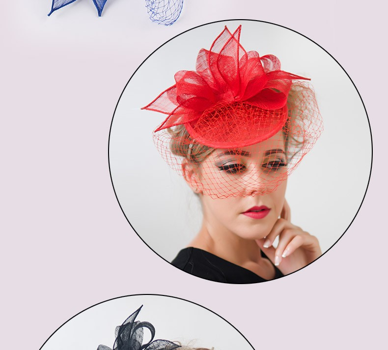 nero Avorio Rotonda Fascinator Sinamay Cappelli di Piume Birdcage Veil  Chiesa Fiore Fascinators Hairclip Cocktail Party Sposa CappelliUSD  29.69 piece 4fbee88a8476