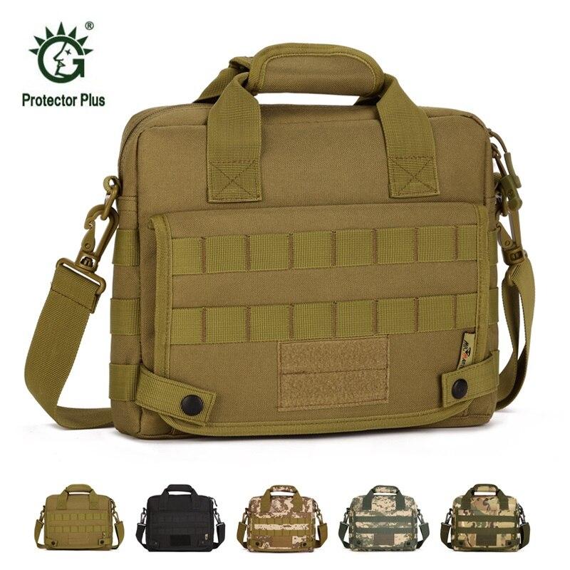 цена на Men's Travel Bag Shoulder Bags Molle Outdoor Sport Rucksack 10 Inch Laptop Mochila Military Bag Tactical Computer Messenger Bag