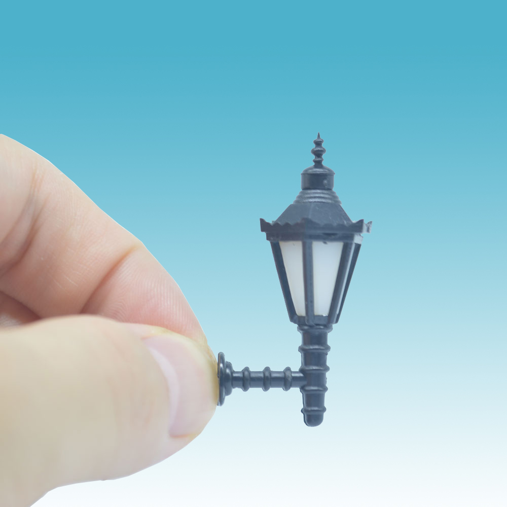 5 PCS HO Scale Wall Mount Lamps/Street Lamp Model Making Railroad/Model Park Lamps/Train/Railroad Layout