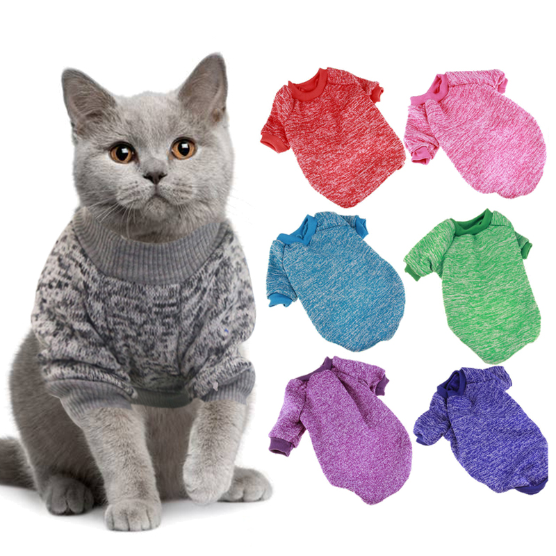 Cat Clothes Winter Warm Pet Clothing For Cats Fashion Outfits Coats Chihuahua Dog Clothes Rabbit Animals Spring Pet Supplies