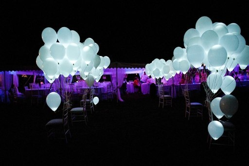 20pc Pack 12 White Led Balloons Wedding Send Off Party Decorations Light Up Perfect For Birthday Weddings In Ballons Accessories From Home