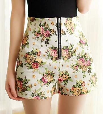 60 Summer Shorts Women Casual High Waisted Shorts Show Thin Loose Delectable High Waisted Shorts Pattern