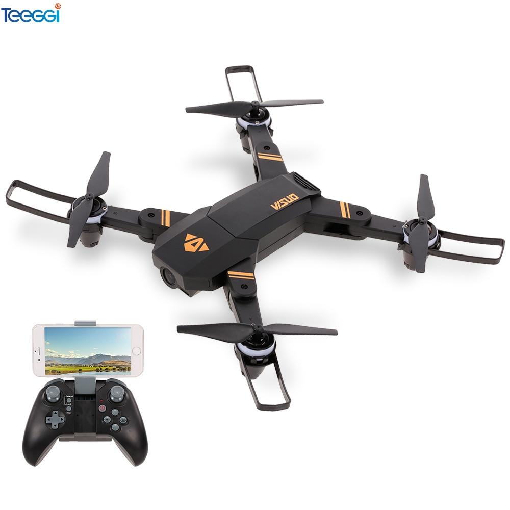 Cuaderno visual XS809 Mini RC Drone con 0.3MP/2MP amplia cámara de altitud plegable Wifi FPV RC Quadcopter del XS809HW XS809S