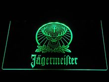 a231 Jagermeister Deer LED Neon Sign(China)