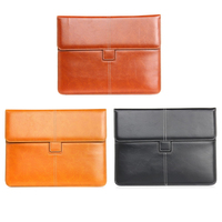 HOT Business High Quality Premium PU Leather Slim Card Slot Bag For Apple IPad 2 3