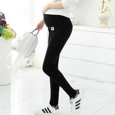 Plus size  Pregnant woman legging spring autumn maternity clothing all match 2016 100% cotton maternity pants  trousers thick