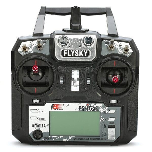 FS-i6X FLYSKY i6X 10CH 2.4 GHz AFHDS 2A transmetteur RC avec récepteur X6B iA6B A8S pour Drone de course RC Qaud FPV - 2