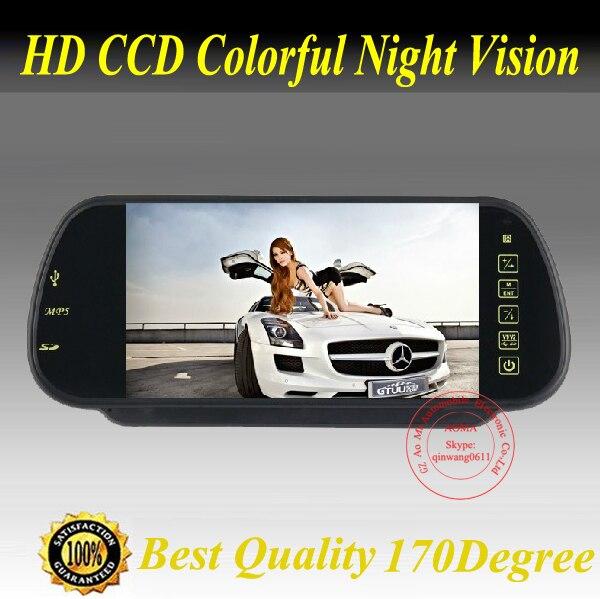 Продвижение завод 7 дюймов Цветной tft LCD Зеркала Заднего Вида Автомобиля Экран Монитора Резервную Камеру