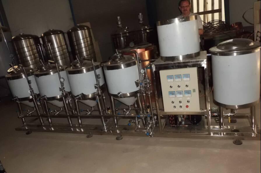 50l домашнее пивоваренное оборудование/полуавтоматическое домашнее ПИВОВАРЕНИЕ под ключ проект/Разливное пиво делая машину