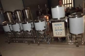Sikè - Impianto di produzione da 50 lt completo 4 fermentatori
