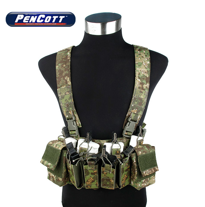 PenCott Greenzone D3 CRX Chest Rig 556 Light Tactical Combat Gear+Free shipping(STG050967) аксессуар carax tpms crx 1003
