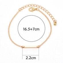 3 Pcs/set Women's Fashion Punk Bracelet Simple Double Knot Loop Metal Chain Bracelet Bohemian Retro Jewelry Accessories