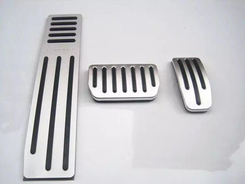 Accélérateur de voiture Pédale AT/MT Gaz Pédale des Freins de Pieds Car Styling Accessoires Pour Tesla modèle X/modèle S, voiture-couvre, Voiture de coiffure