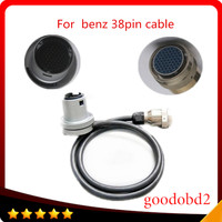 For benz tool 38pin cable for MB Star C3 38Pin diagnosis multiplexer compact 3 Interface Diagnostic Tool car cable 38 pin cable
