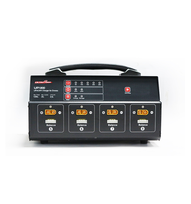 Ultra Power UP1200 1200W 8 Channel Balance Charger ( for RC plant protection drone Lipo Battery )